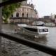 Nach 700 km Solarfahrt aus Bydgoszcz, die SWAN 2 präsentiert sich bei der Museumsinsel in Berlin.