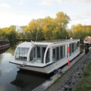 Probe-Solarfahrt aus Havelberg nach Berlin