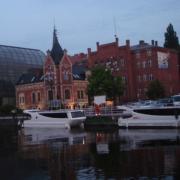 SWAN und SWAN 2 in Bydgoszcz ein Tag vor dem Start nach Berlin